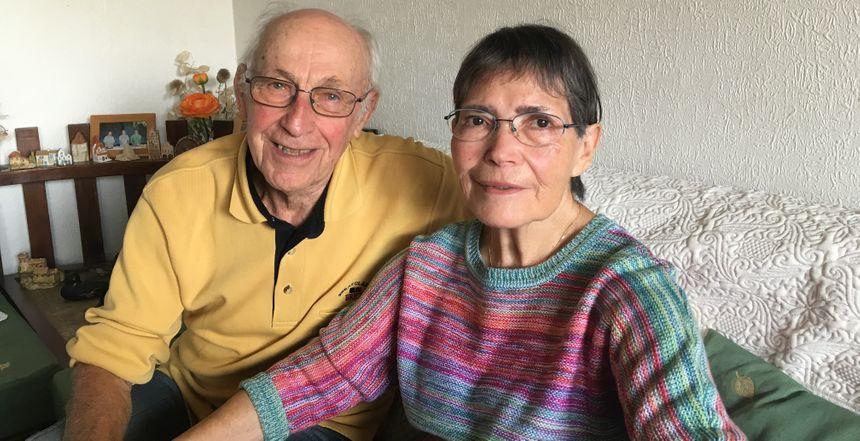 Gaby et Aimée, parmi les tous premiers habitants du village olympique
