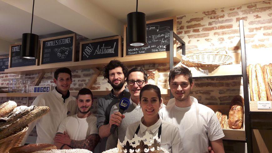 L'équipe de la boulangerie Cyprien