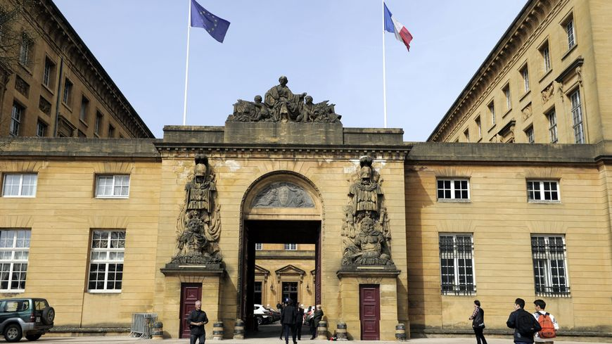 Le palais de justice de Metz