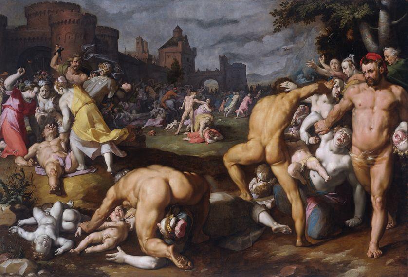 """""""Massacre des innocents"""" de Cornelisz Van Haarlem, 1590, Rijksmuseum, Amsterdam"""