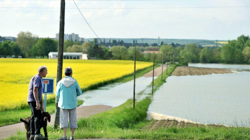 Vigilance orange aux inondations pour Yonne Amont
