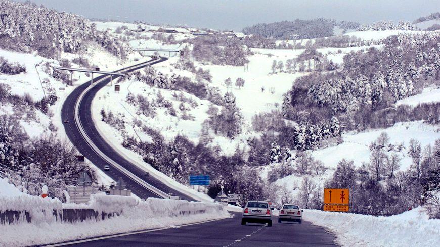 Marvejols sous la neige (photo d'illustration)