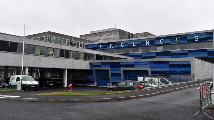 L'hôpital de la cavale blanche, à Brest