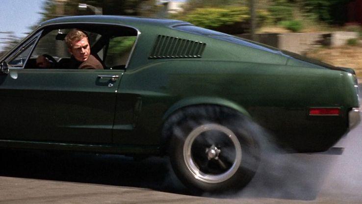 """Steve McQueen, dans le film """"Bullitt"""""""