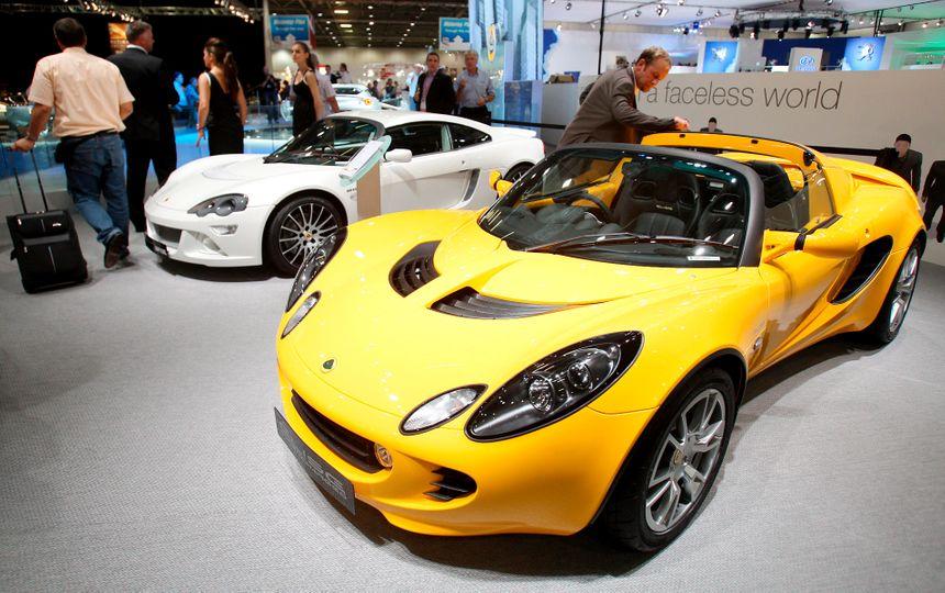 La Lotus Elise, l'un des deux modèles confisqués par la justice vendéenne