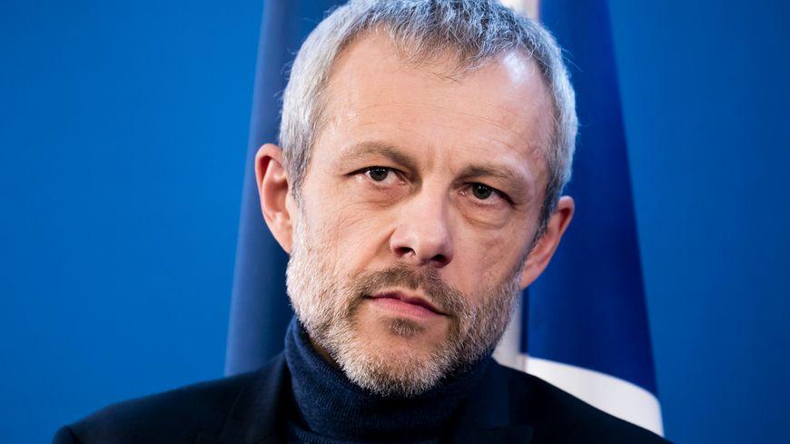 Pierre Mathiot, lors de la remise du rapport sur la réforme du Bac au Ministre de l'Education