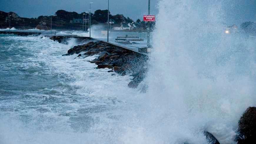La tempête Carmen balaye la Bretagne d'ouest en est (photo d'illustration).