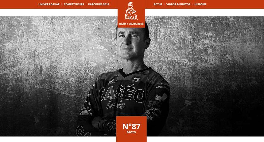 Stéphane Gourlia avait déjà tenté l'aventure Dakar en début 2016, sans succès.