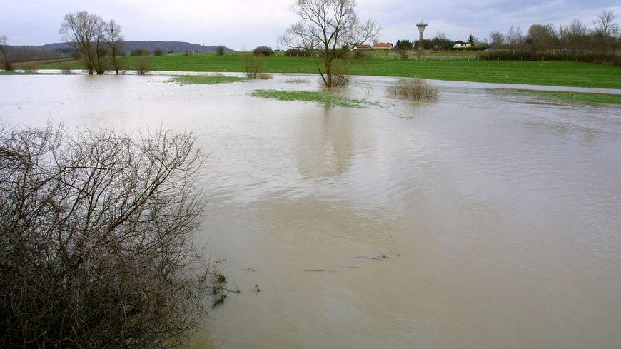 Certains cours d'eau du département menacent de déborder - Photo d'illustration