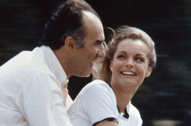 """Romy Schneider et Michel Piccoli dans """"Les choses de la vie"""" de Claude Sautet (1970)"""