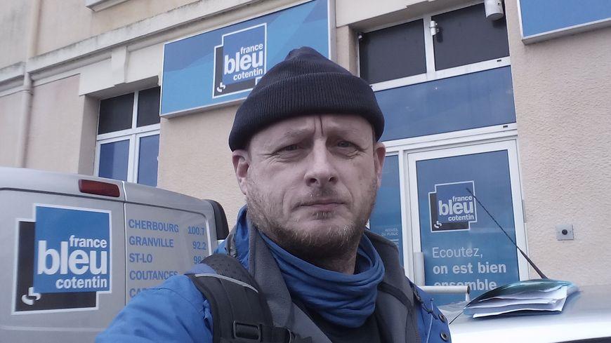 Jean-Christophe Tison, marcheur pour défendre la planète