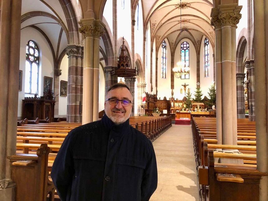 Dessenheim, Vincent Grass, Président du Conseil de Fabrique