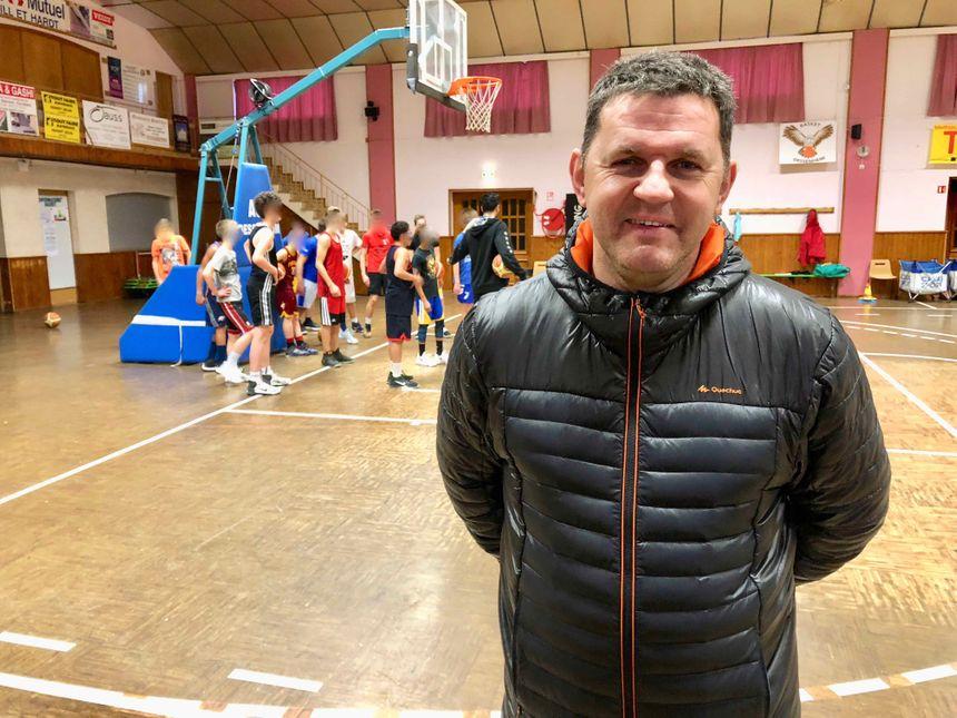Dessenheim, Mathieu Grenacker, pdt Basket
