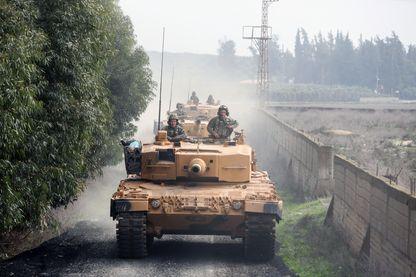 L'offensive des chars turcs sur l'enclave kurde d'Afrin en Syrie