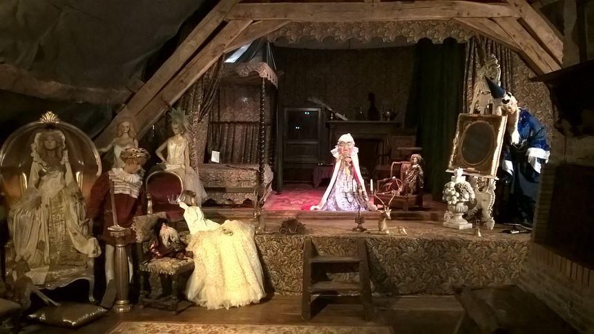 Théâtre au Château du Puy à Tercillat