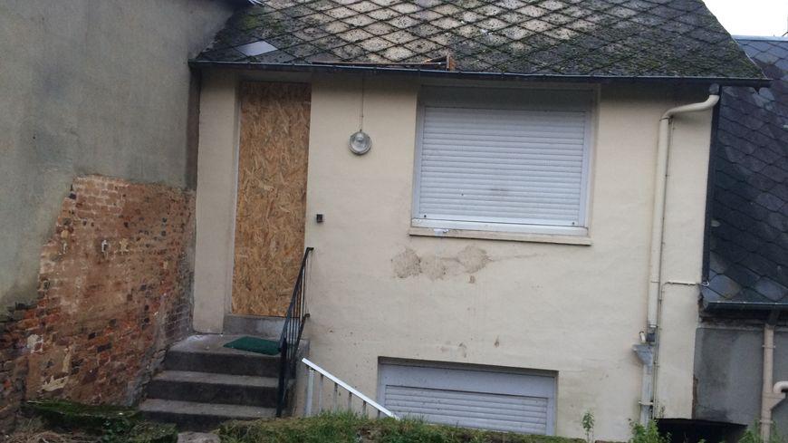 Le domicile de la victime à Bolbec