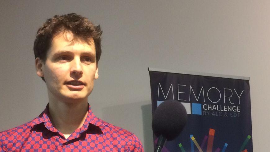 Sébastien Martinez, Champion de France de mémoire en 2015