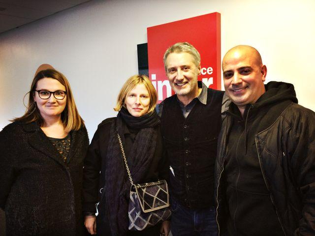 Charline Roux, Karin Viard, Antoine de Caunes et Eklips
