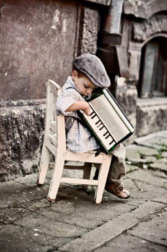 L'accordéon c'est trop mignon