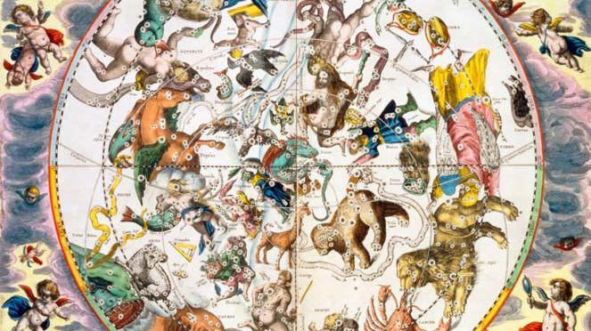 Fresque du zodiaque