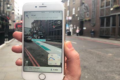 AR City, une application de guidage en réalité augmentée, a été lancée récemment par BlippAR