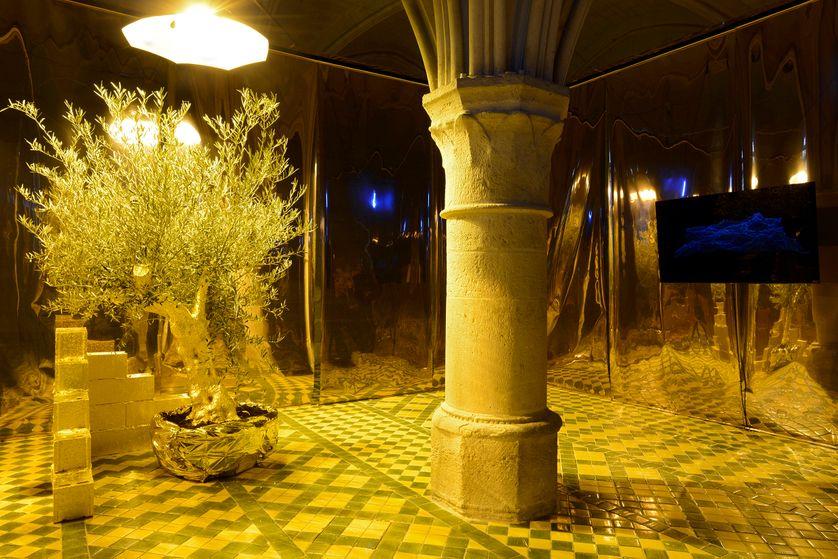 Hicham Berrada, exposition 74 803 jours, abbaye de Maubuisson