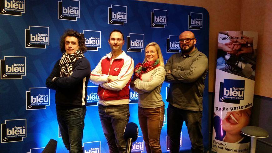 David Vasseur, Olivier Cattiaux, Capucine Grimonprez et Aziz Kassar