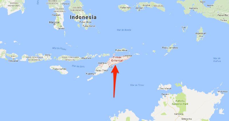 Le Timor Oriental, ancienne colonie portugaise devenue indépendante en 2002 après la fin de l'occupation indonésienne, est un pays du sud-est de l'Asie - Aucun(e)