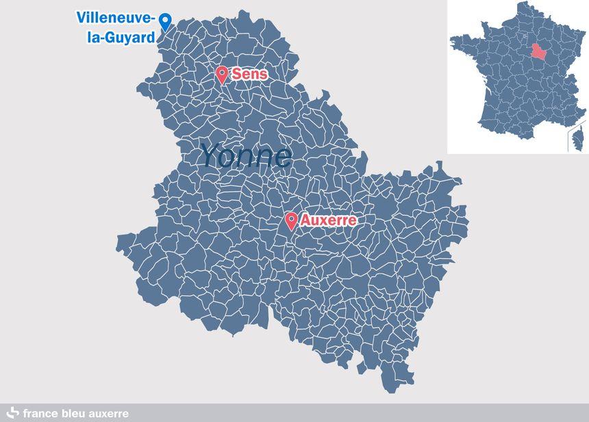 Villeneuve-la-Guyard, dans l'Yonne - Radio France