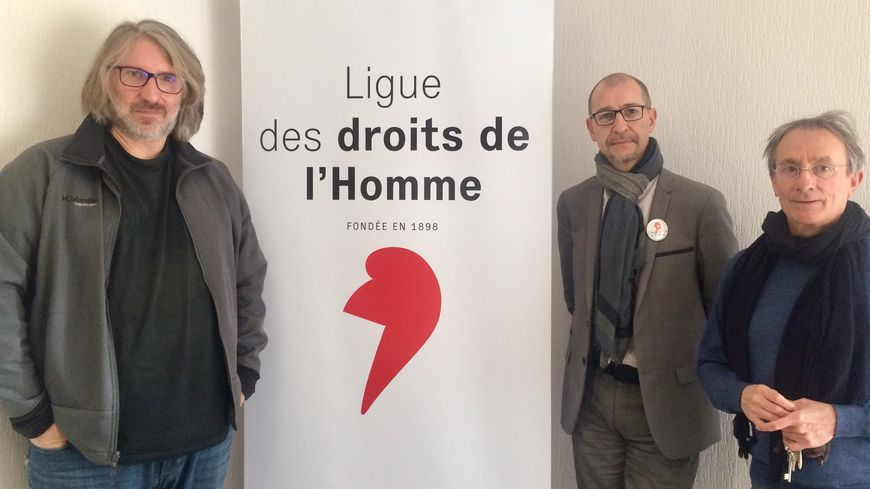 Des représentants de la LDH de Dordogne mais aussi de la Nouvelle Aquitaine se sont retrouvés ce samedi à Périgueux