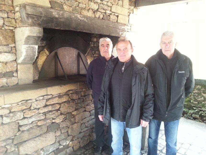 Claude Leclerc,Claude Thuillier et Jean-Claude Leurs