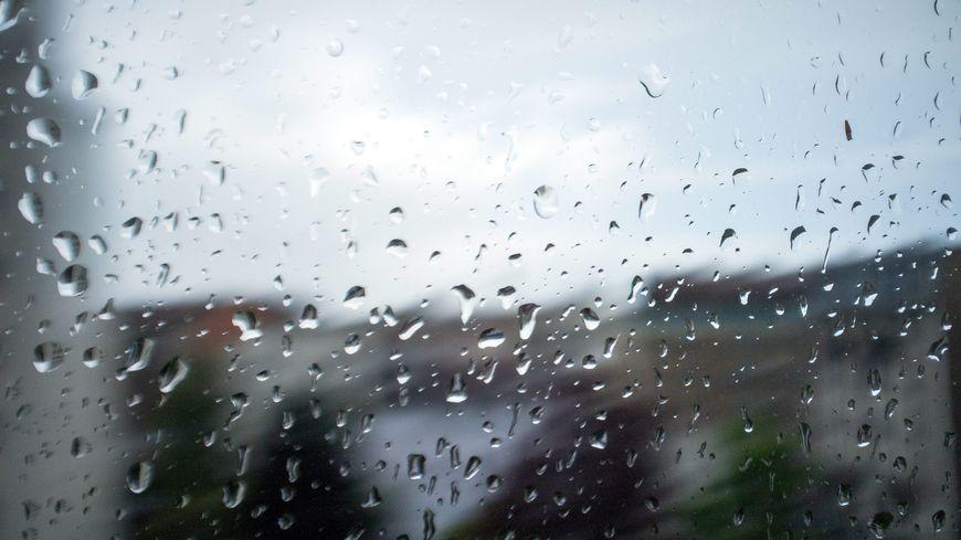 Goutte de pluie (illustration)