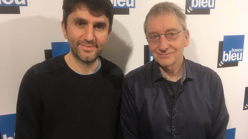 Jérôme Didelot et James Warren