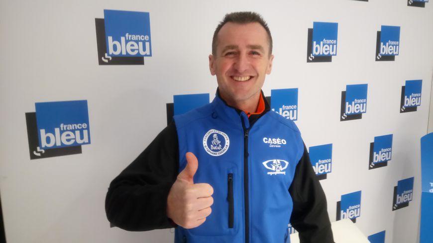 Le Lorrain Stéphane Gourlia espère atteindre l'arrivée le 20 janvier, à Cordoba en Argentine