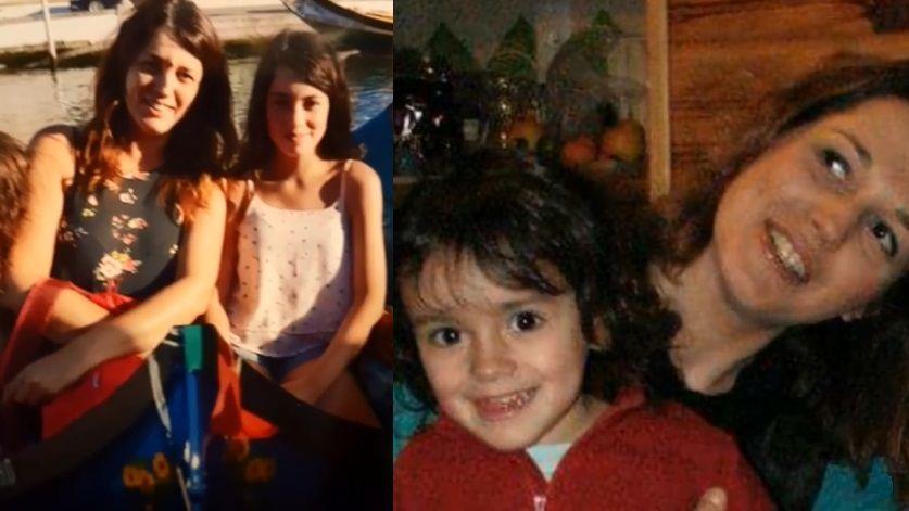 Jennifer Cleyet Marrel et sa fille Maëlys