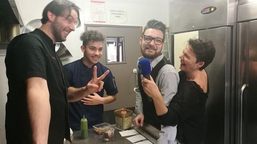 En cuisine avec Olivier, Thomas et Yannis