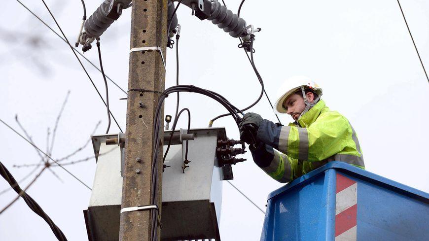 Une centaine de foyers tourangeaux a été privée d'électricité ce lundi