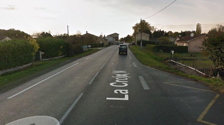 L'accident s'est produit sur la RD 1089 à Saint-Médard-de-Guizières.