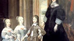 Christine de France veuve et ses enfants