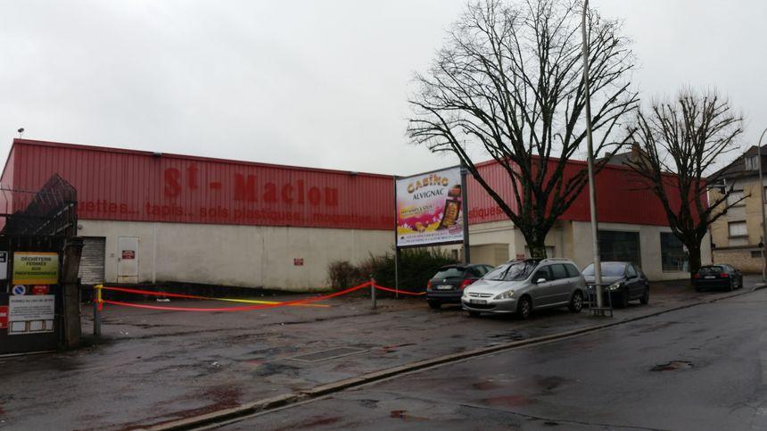 L'ancien Saint-Maclou avenue Léo-Lagrange à Brive