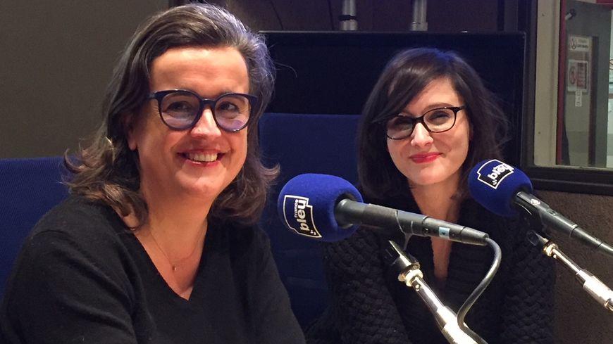 De gauche à droite : Delphine Davigo et Laura Dubois