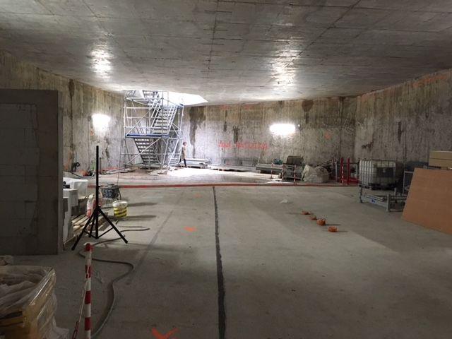 Le local technique de la station souterraine Alsace-Lorraine
