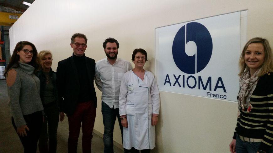 L'entreprise Axioma compte sept salariés à Brive