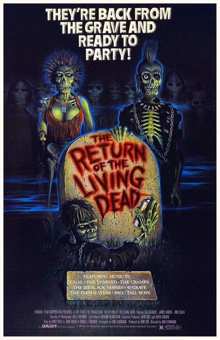 Le retour des morts vivants, Dan O'Bannon