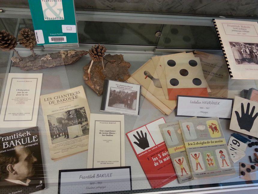 Quelques archives du Père Castor sont actuellement présentées dans une exposition organisée jusque fin mars à la médiathèque de Meuzac
