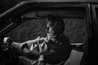 Philippe Torreton dans la pièce Bluebird de Simon Stephens , mise en scène par de Claire Devers