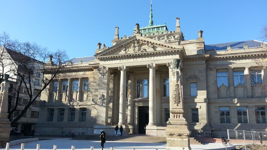 Le tribunal de grande instance de Strasbourg