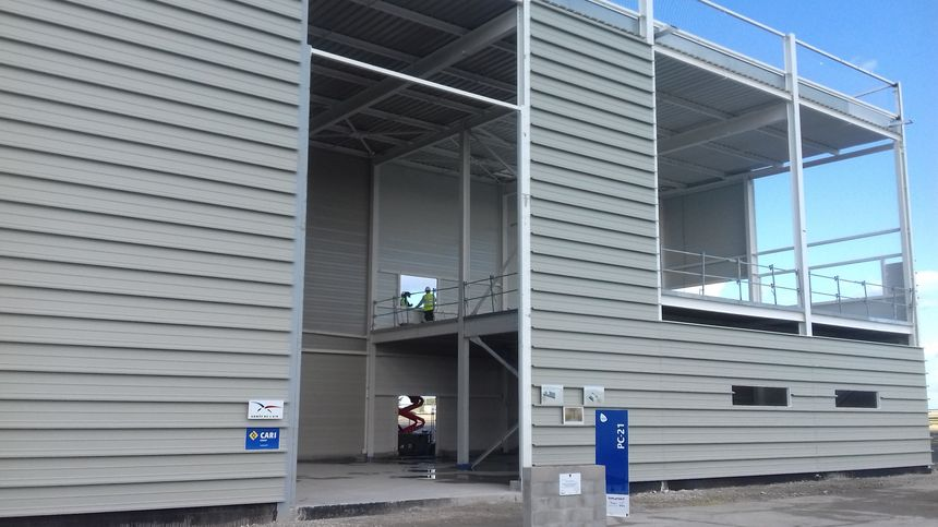 Le nouveau hangar simulateur pour les PC-21