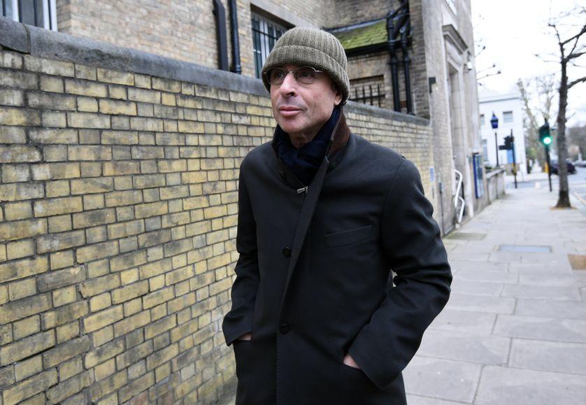 Alexandre Djouhri à Londres, le 14 janvier 2018