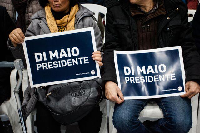 Di Maio, un candidat tout neuf qui propose de balayer la vieille caste...